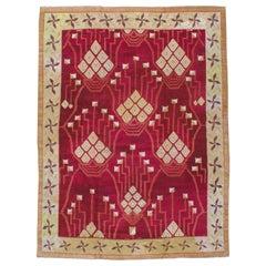 Vintage Indian Room Size Carpet