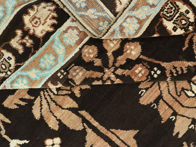 Vintage Indian Cotton Agra Carpet For Sale 3