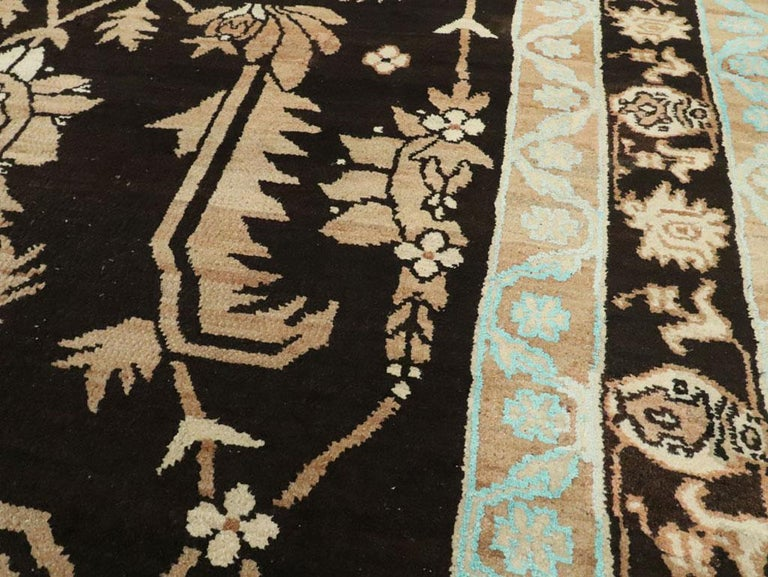20th Century Vintage Indian Cotton Agra Carpet For Sale