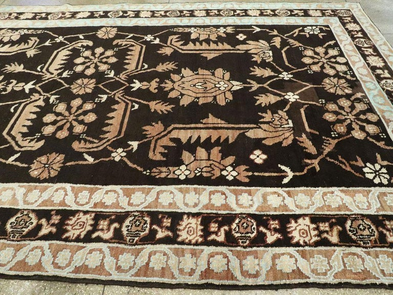 Vintage Indian Cotton Agra Carpet For Sale 2