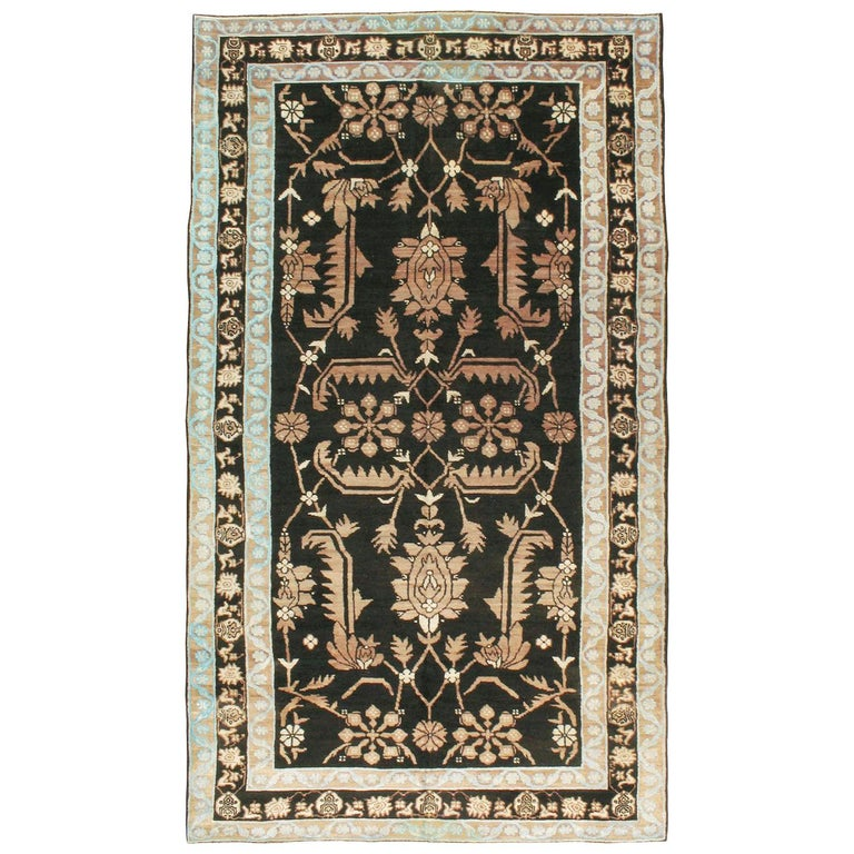 Vintage Indian Cotton Agra Carpet For Sale