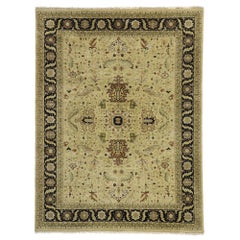 Vintage Indian Rug with Classic Colonial Revival Style
