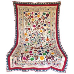 Vintage Indian Wedding Canopy with Hand Embroidered Tribal Designs