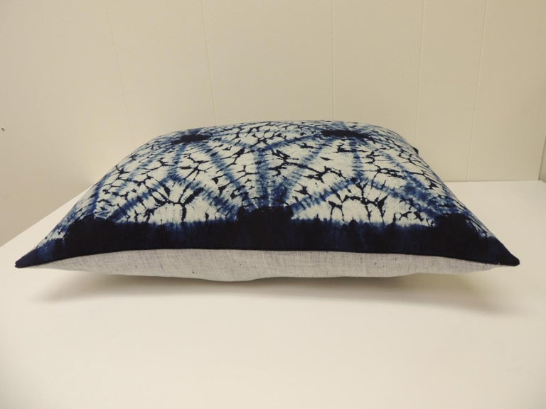 Tribal Vintage Indigo and White African