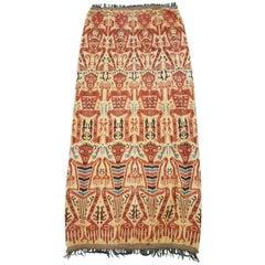 Vintage Indonesian Sumba Island Hinggi Ikat Weaving
