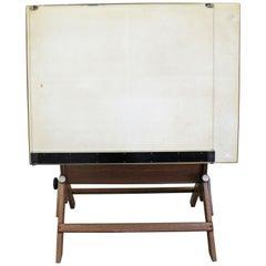 Vintage Industrial Adjustable Drafting Table