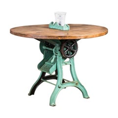 Vintage Industrial Cutter Table, 20th Century