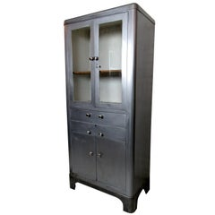 Vintage Industrial Doctors Cabinet