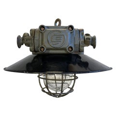 Vintage Industrial Explosion Proof Lamp, 1960s
