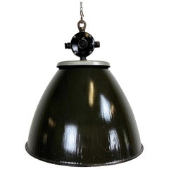 Vintage Industrial Factory Lamp, 1960s