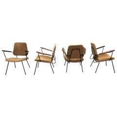 Vintage dutch lounge chairs, 1950s