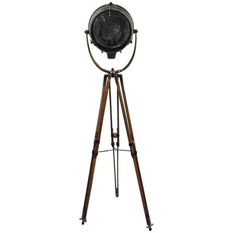 Vintage Industrial Novalux Projector Light By General