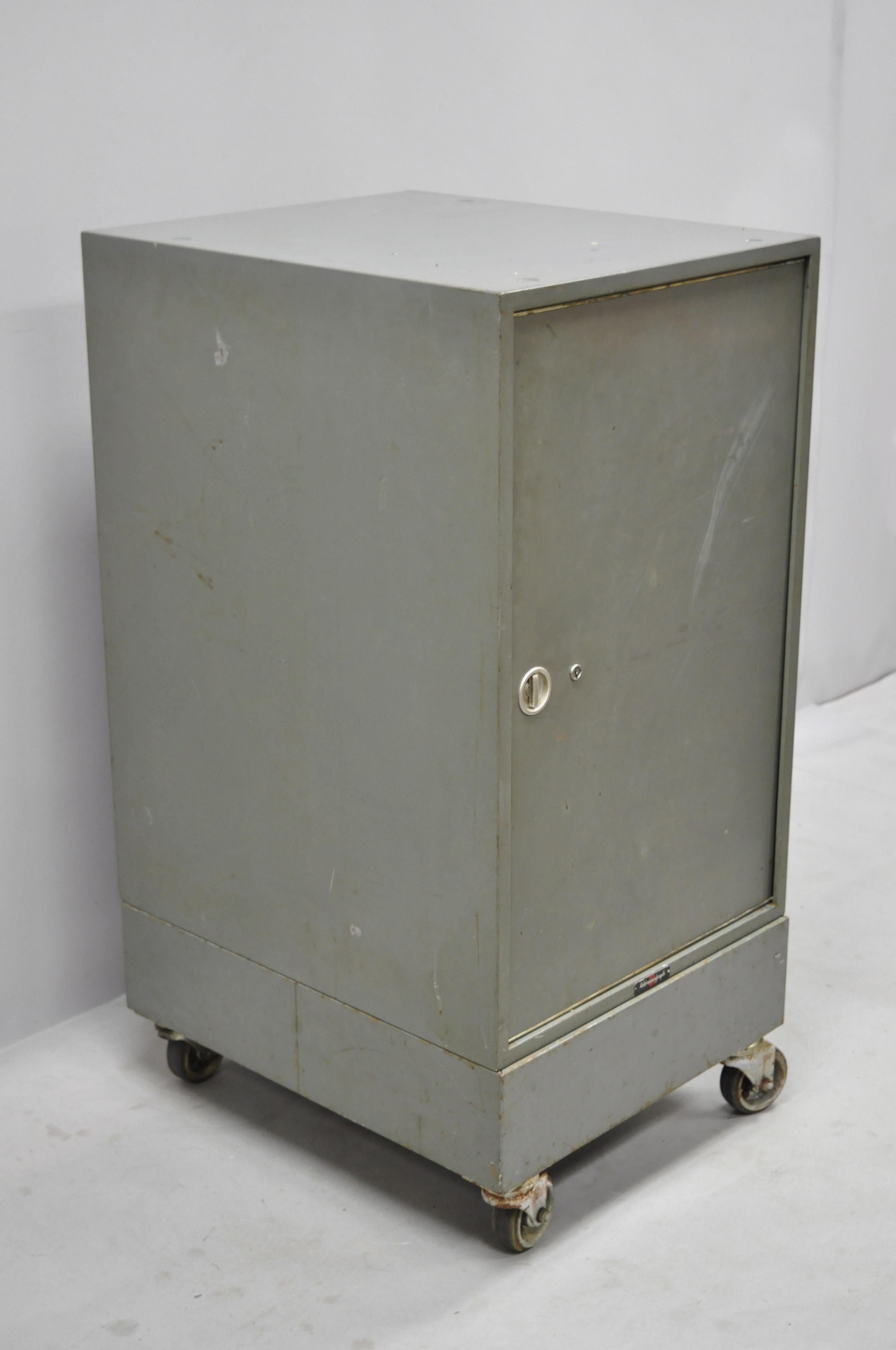 Vintage Industrial Steel Metal 30 Drawer Catalogue File Cabinet By Addressograph