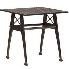 Vintage Industrial Style Metal Side Table