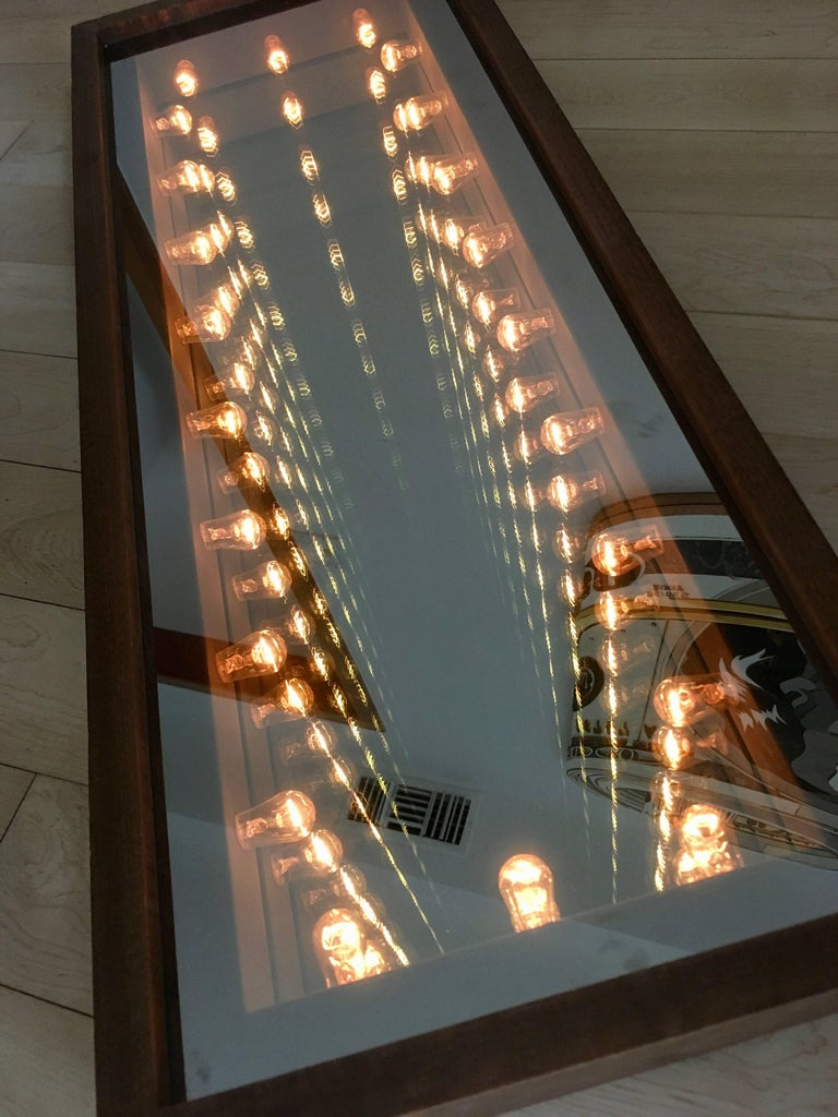 American Vintage Infinity Mirror For Sale
