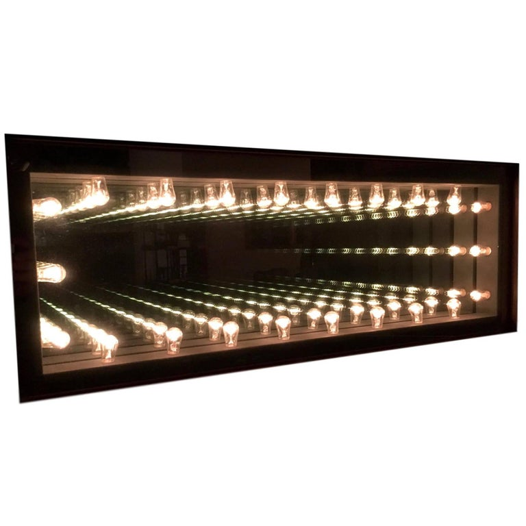 Vintage Infinity Mirror For Sale