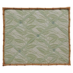 Vintage Inspiration Square Board with Bamboo Frame