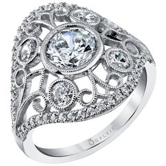 Vintage Inspired Engagement Ring S1237