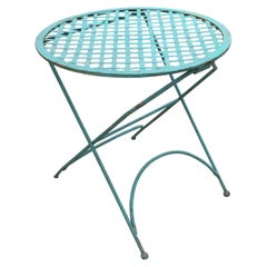 Vintage Iron Bistro Table