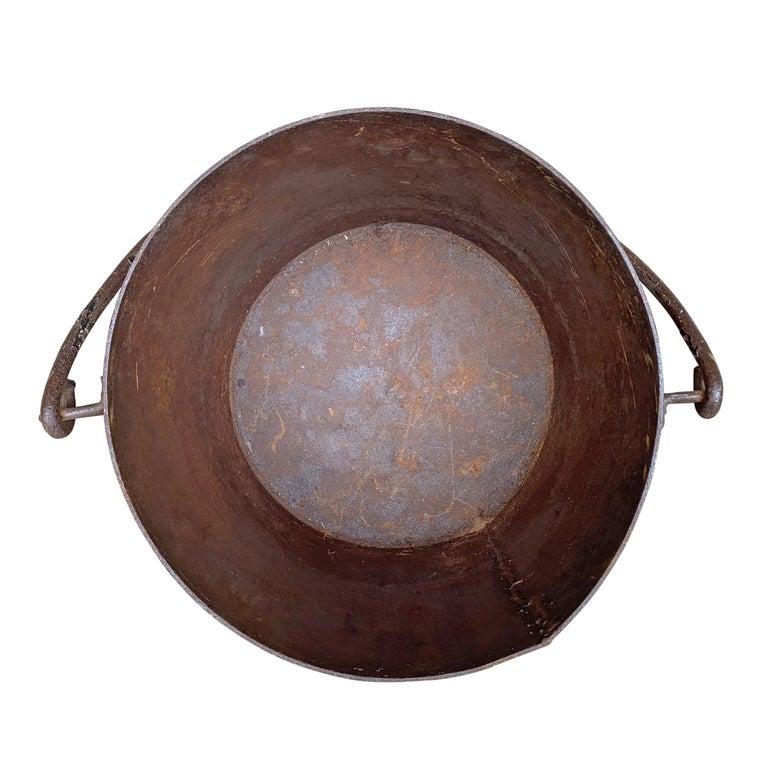 Vintage Iron Bucket For Sale 3