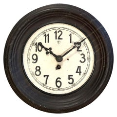 Vintage Iron Clock, 1930s