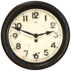 Vintage Iron Clock From Kienzle, 1930s