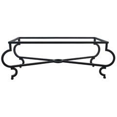 Vintage Iron Coffee Table Base