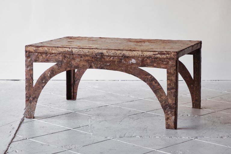 Vintage Iron Coffee Table For Sale 1