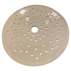Vintage Ironstone Drain Plate