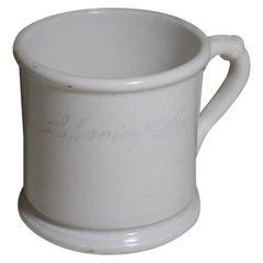 Vintage Ironstone Shaving Mug