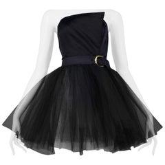 Vintage Isaac Mizrahi Black Ballerina Tutu Dress