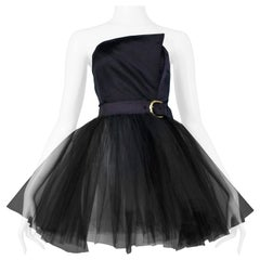 Vintage Isaac Mizrahi Black Ballerina Tutu Dress
