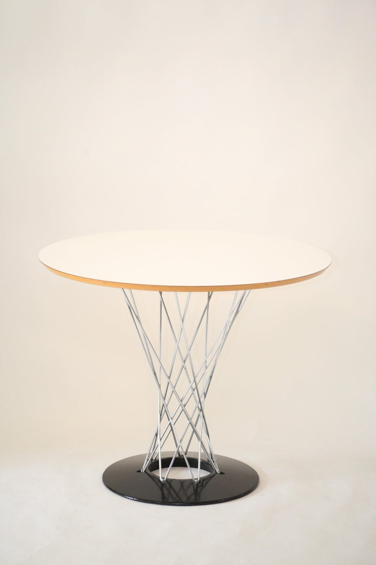 Mid-Century Modern Vintage Isamu Noguchi Cyclone Table for Knoll Associates, 1960s For Sale
