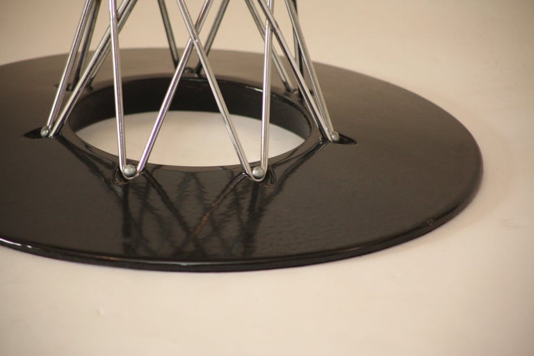 Vintage Isamu Noguchi Cyclone Table for Knoll Associates, 1960s In Good Condition For Sale In Pittsburgh, PA