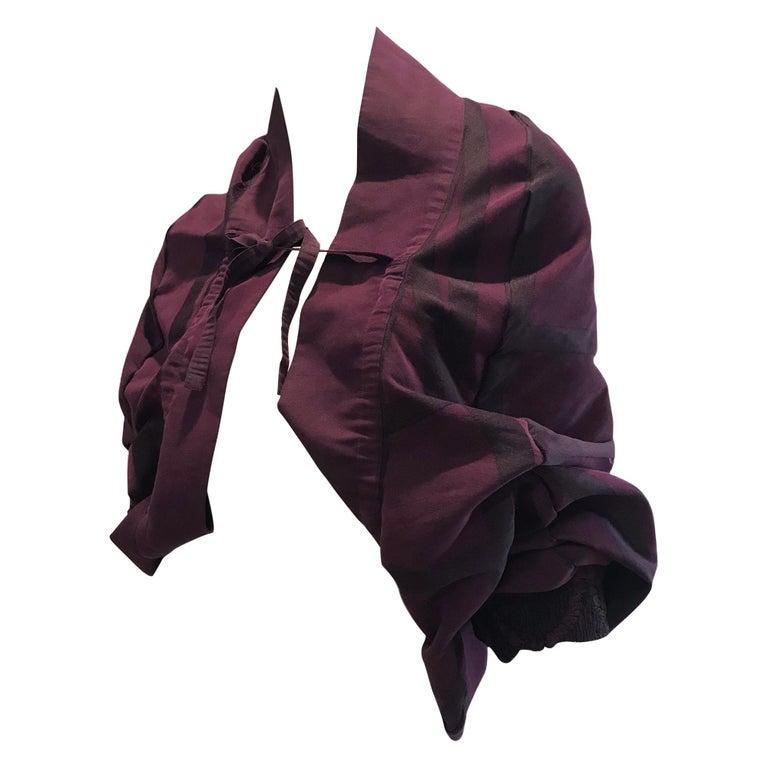 Vintage Issey Miyake A POC purple jacket  For Sale