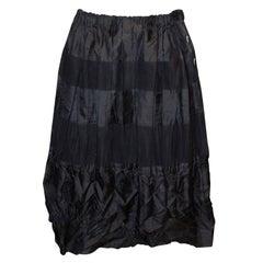 Vintage Issey Miyake Black Skirt