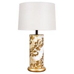 Vintage Itailan Giltwood Table Lamp