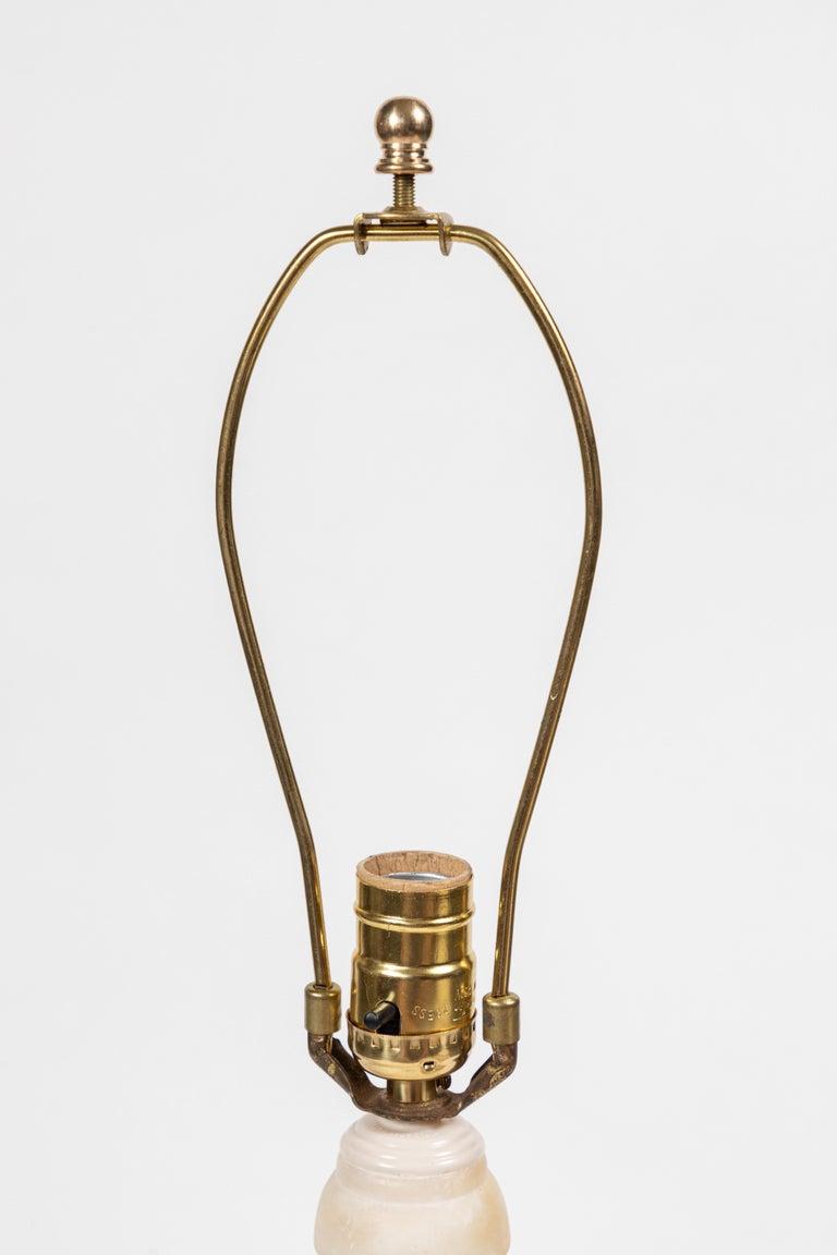 Vintage Italian Alabaster Lamp 7