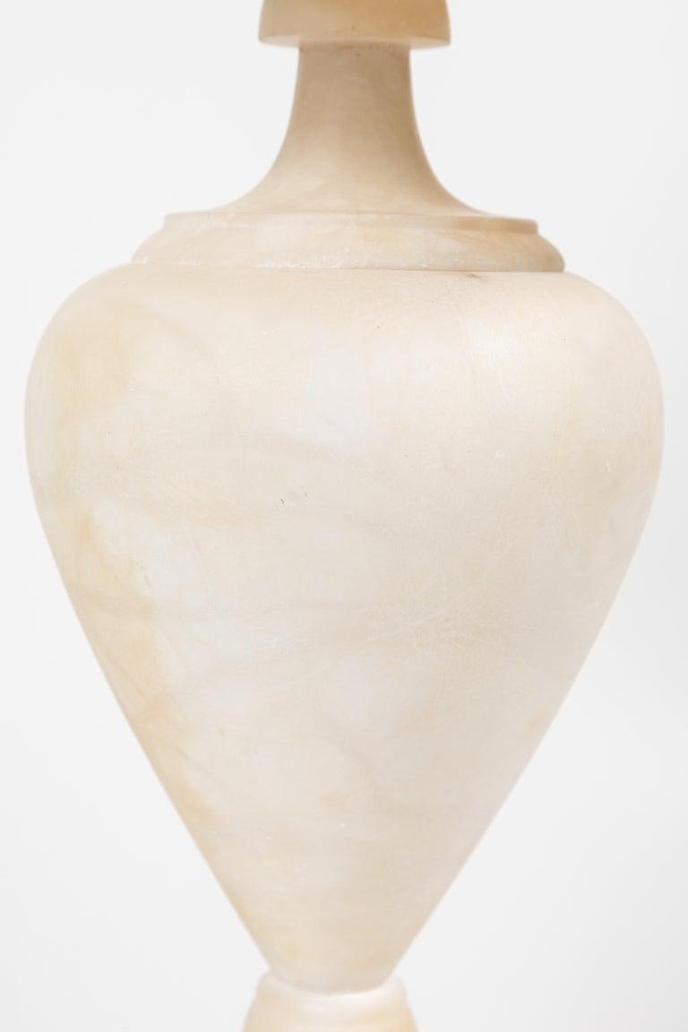Vintage Italian Alabaster Lamp 1
