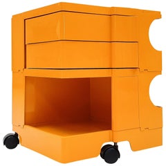 Vintage Italian 'Boby' Trolley Storage Unit by Joe Colombo for Bieffeplast
