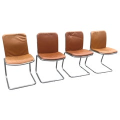 Vintage Italian Cantilever Chairs from 1970s