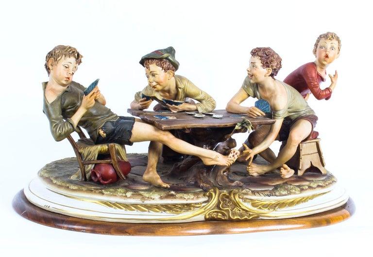 Vintage Italian Capodimonte Porcelain