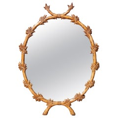 Vintage Italian Carved Mirror