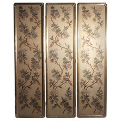 Vintage Italian Chinoiserie Room Divider Screen