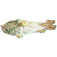 Vintage Italian Covered Fish Tureen