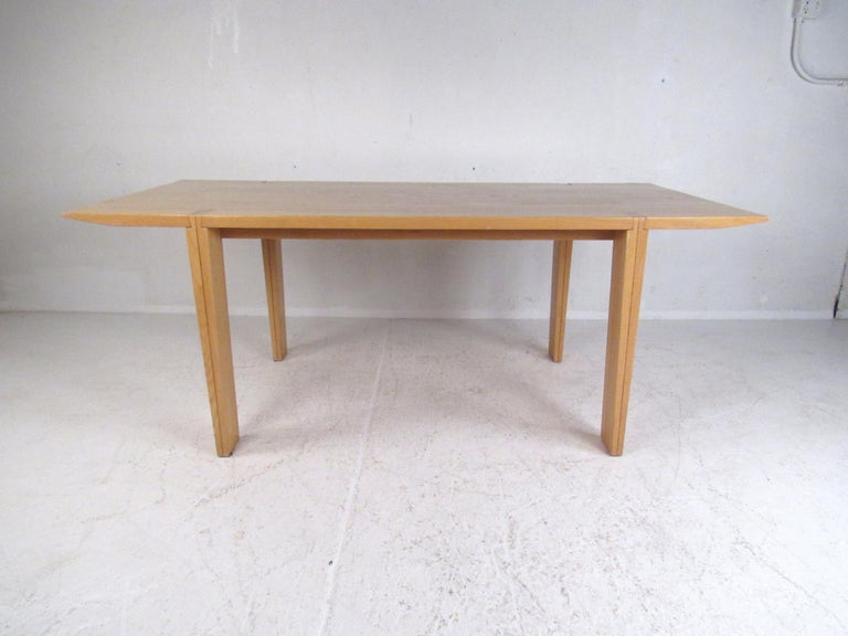 Mid-Century Modern Vintage Italian Dining Table by A. Sibau For Sale