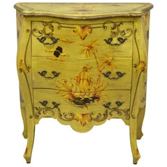 Yellow Commodes and Chests of Drawers