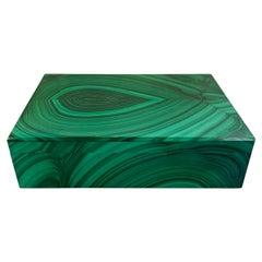 Vintage Italian Malachite Box
