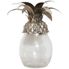 Vintage Italian Midcentury Pineapple Ice Bucket