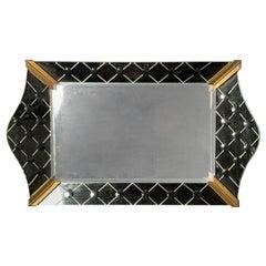 Vintage Italian Mirrored Vanity Tray